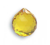 Bola 8558/20mm Light Topaz Swarovski Crystal