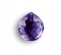 Bola 8558/20mm Blue Violet Swarovski Crystal