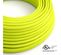 Bobina 150 Pies Cable UL SVT 3x18AWG-RF10 Amarillo fluo