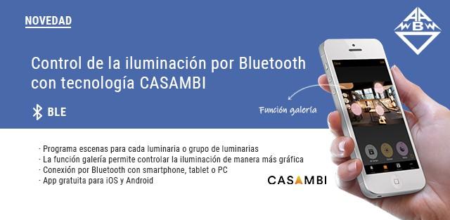 Novedades Arditi para el control de la iluminación por Bluetooth