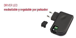 driver led enchufable y regulable