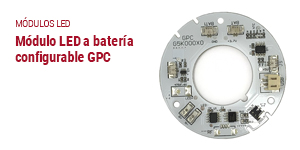 modulo a bateria configurable gpc