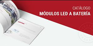 Nuevo Catálogo Módulos Led a Batería